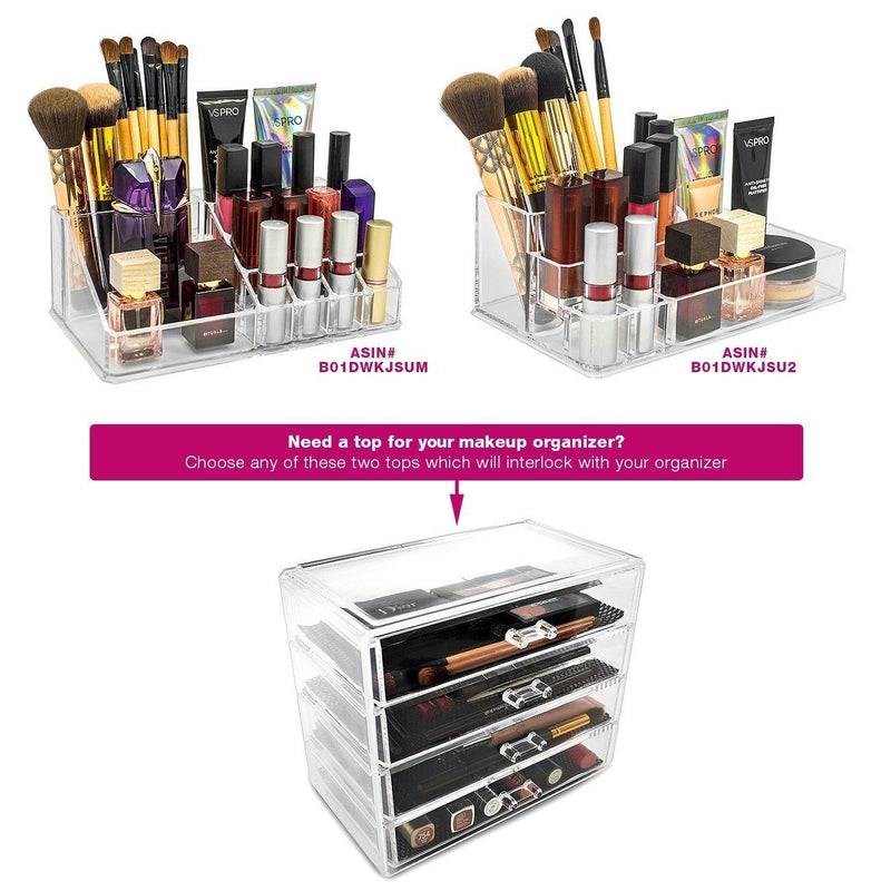 Small Cosmetic Organizer - 4 Drawer - sorbusbeauty