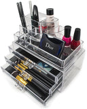Top Sectional Cosmetic Organizer - Round - Small - sorbusbeauty