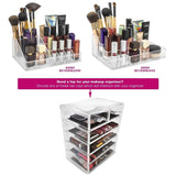 Medium Cosmetic Storage Organizer - 6 Drawer - sorbusbeauty