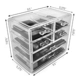 Small Cosmetic Organizer - 6 Drawer - sorbusbeauty