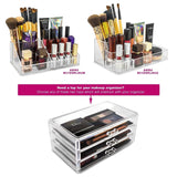Small Cosmetic Makeup Organizer - 3 Drawer - sorbusbeauty