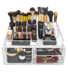 Top Sectional Cosmetic Storage Organizer - XL - sorbusbeauty
