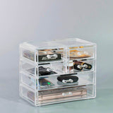 Small Makeup Organizer - (2 large / 4 small drawers)