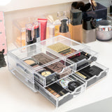 Stackable Cosmetic Organizer - 4 Drawer (XL)
