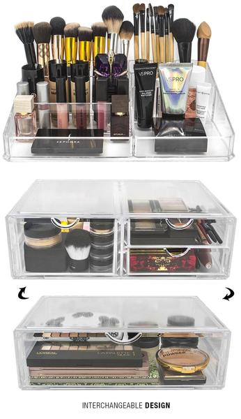 Stackable Cosmetic Organizer - 1 Drawer (XL)