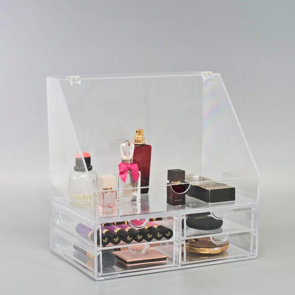 Slanted Lid Top with 4 Drawers - sorbusbeauty