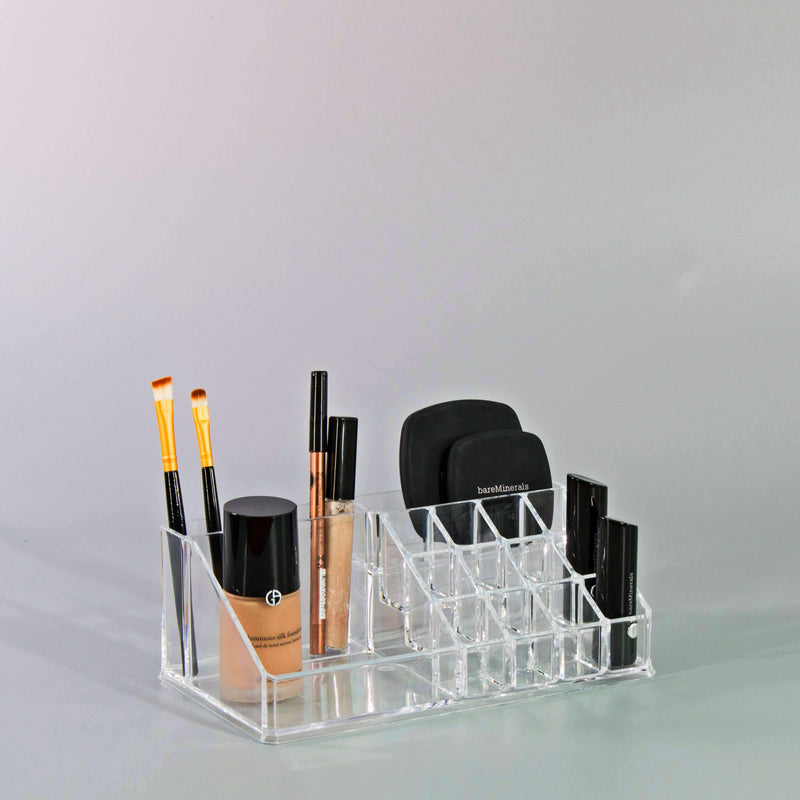Top Sectional Cosmetic Organizer - Multi Compartment - Small - sorbusbeauty