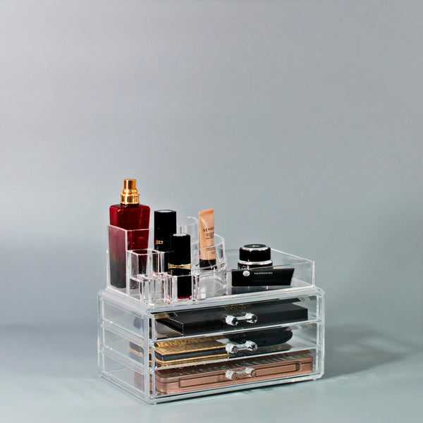 Small Round Top Cosmetic Organizer - sorbusbeauty