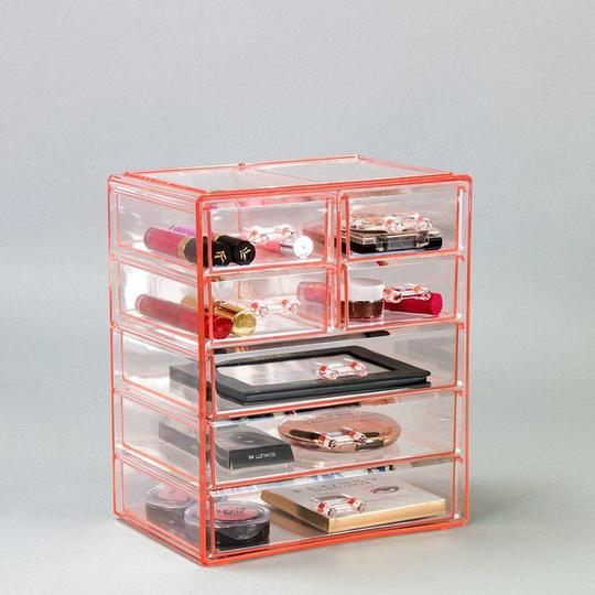 Medium Makeup Organizer - (3 large / 4 small drawers)