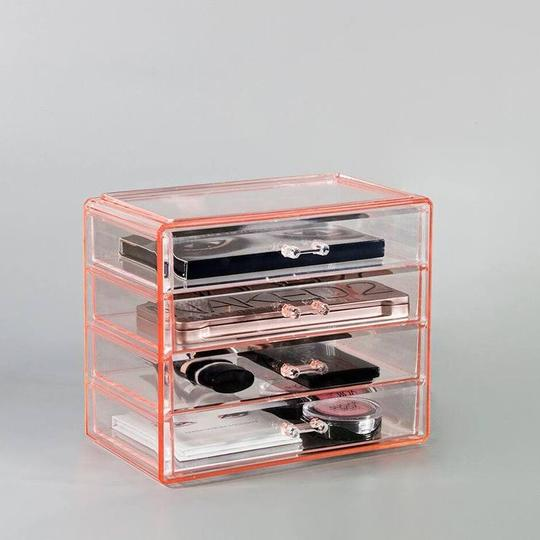 Small Makeup Organizer Case - 4 Drawers