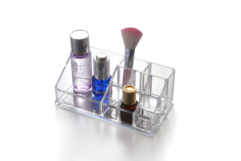 Mini Tray Makeup Organizer (9 Slots)