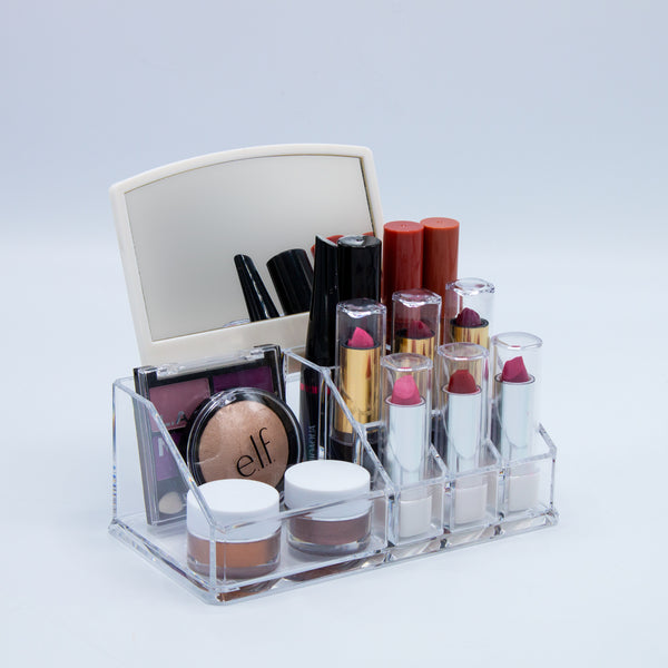 Mini Makeup Organizer with Mirror - sorbusbeauty