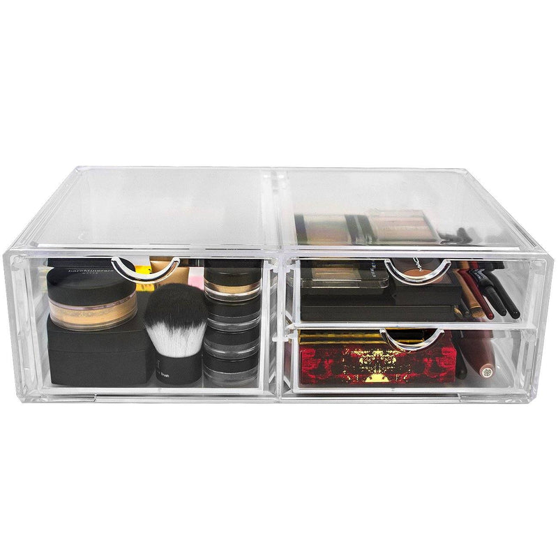 Stackable Cosmetic Organizer  - 3 Drawer (XL) - sorbusbeauty