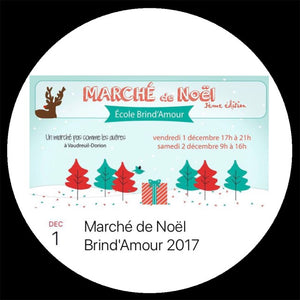 Order from Marché Brind'Amour December 1st & 2nd, 2017