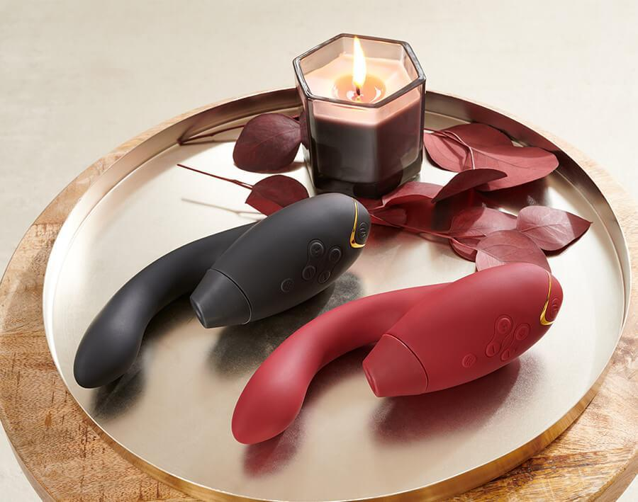 New Womanizer DUO - Clitoral & G Spot Stimulator