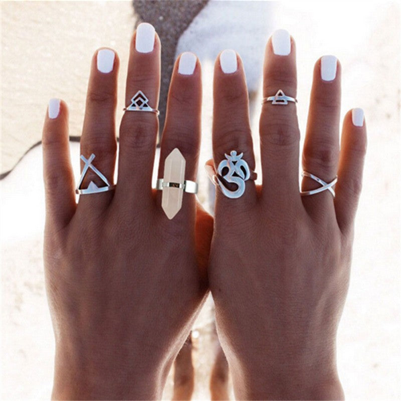 Quartz Ring Set