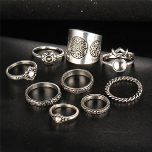 Mamihlapinatapei Ring Set