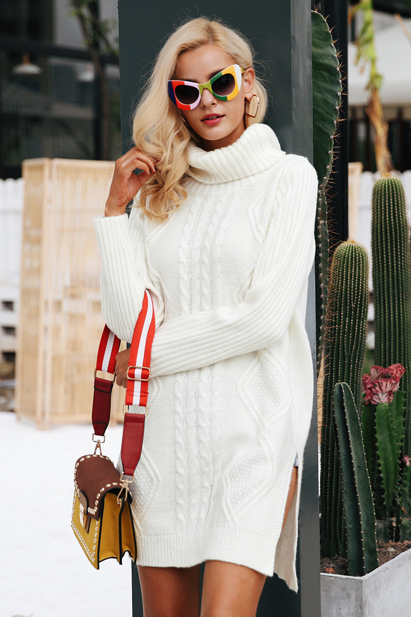 Cozy Knitted Dress