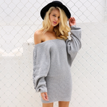 Frosty Sweater Dress