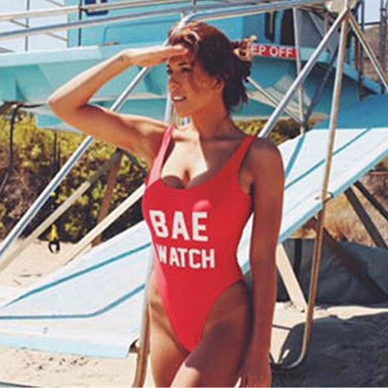 Bae Watch Monokini