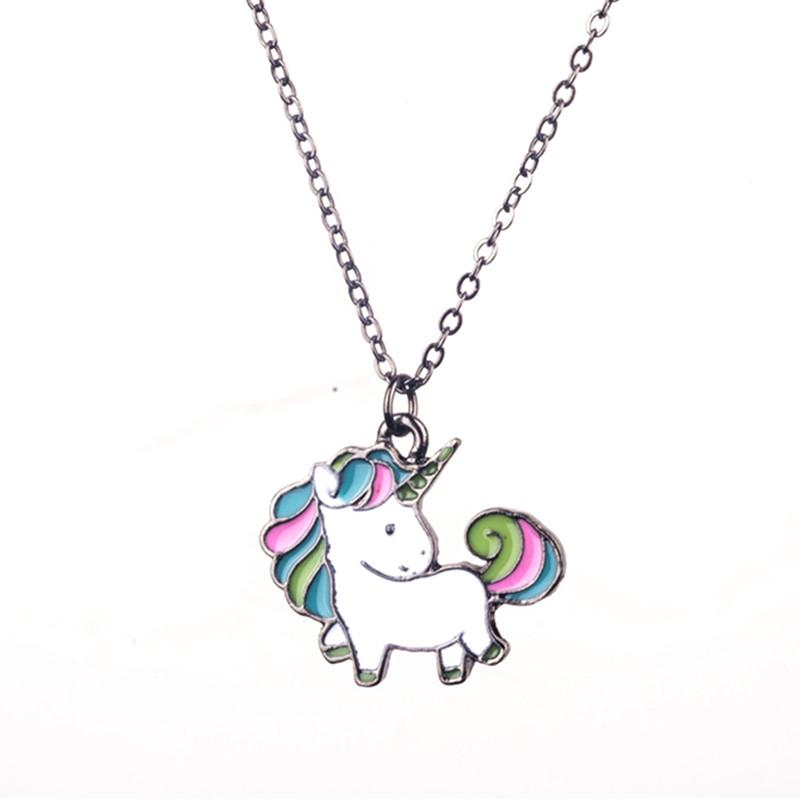 Cute Rainbow Unicorn Necklaces