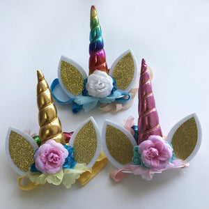 Rainbow Unicorn Hairband