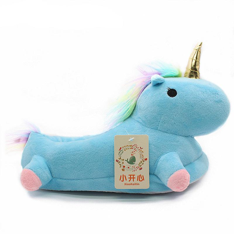 Soft Cotton Unicorn Slippers