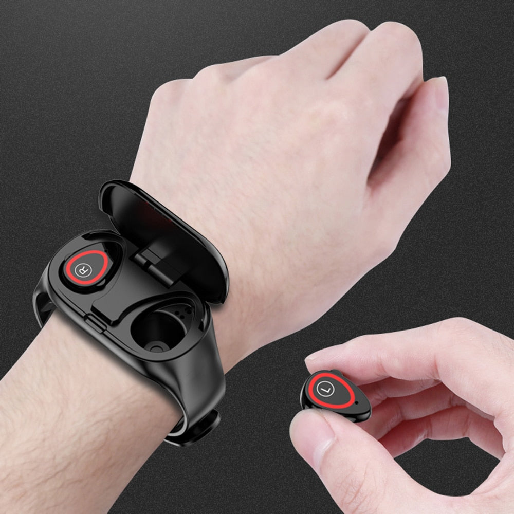 New Smart Watch with  Earbuds