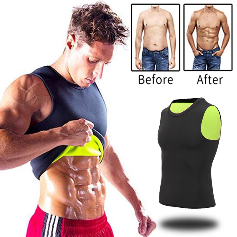 Neoprene Abdomen Fat Burning Shapewear For Men
