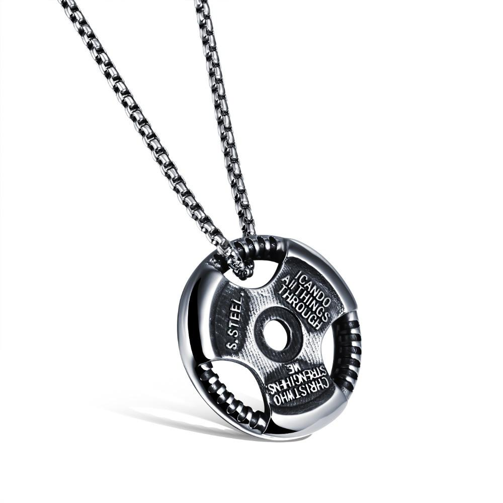 High Quality Weight Plate Necklace