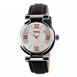 LUXURY LEATHER STRAP WATCH