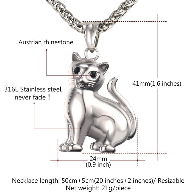 Elegant Cat Necklace