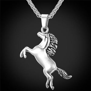 Charming Horse Necklace
