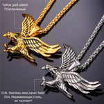 King of the Skies Eagle Necklace