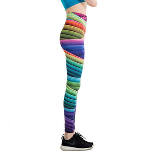 Multicoloured Candy Leggings