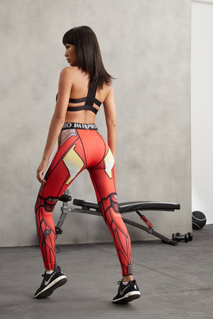 3D Printed Leggings Super Hero