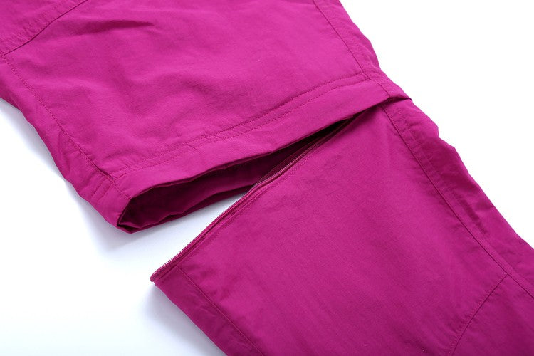 Quick Dry Leg Removable Sports Pants