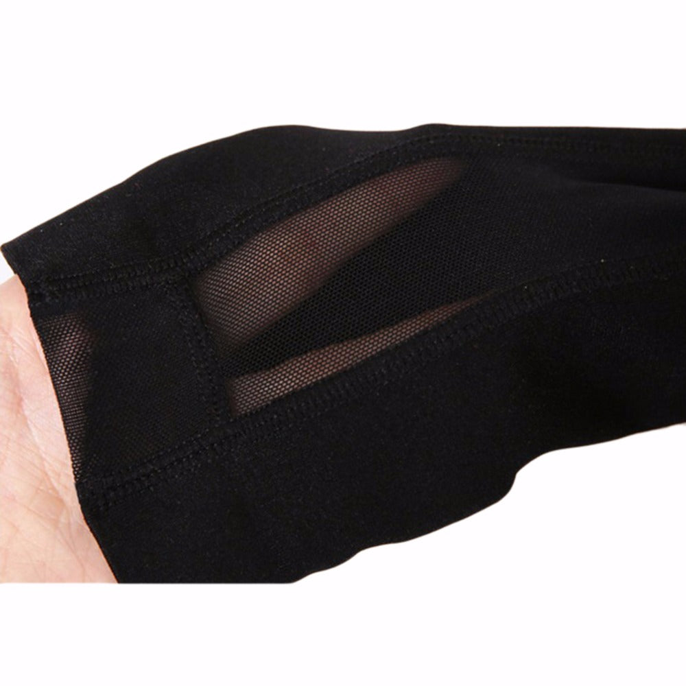 Mesh Yoga Leggings with Phone Pockets