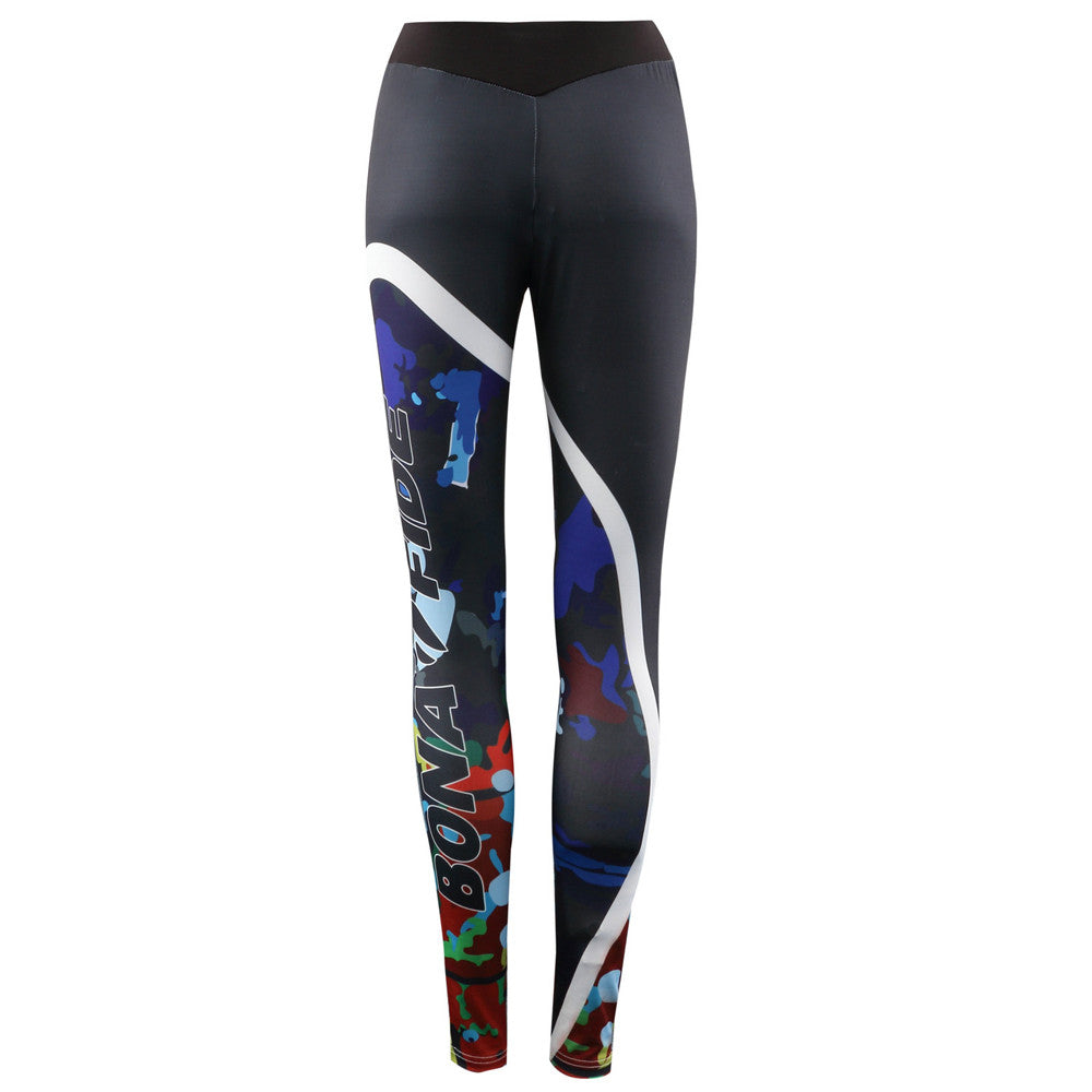 Colorful Yoga & Gym Fitness Leggings