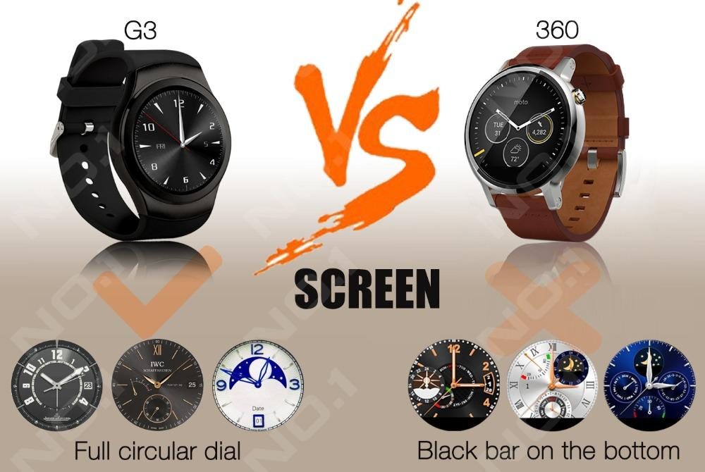 G3 Fully Compatible Bluetooth Smartwatch