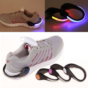 LED Luminous Shoe Clip for Night Running or Cycling