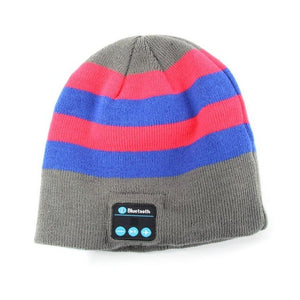 Warm Beani Hat Wireless Bluetooth Headset