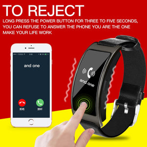 Smart Watch with Blood Pressure Heart Rate & Sleep Quality Monitor