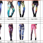 Colorful Galaxy Space Leggings