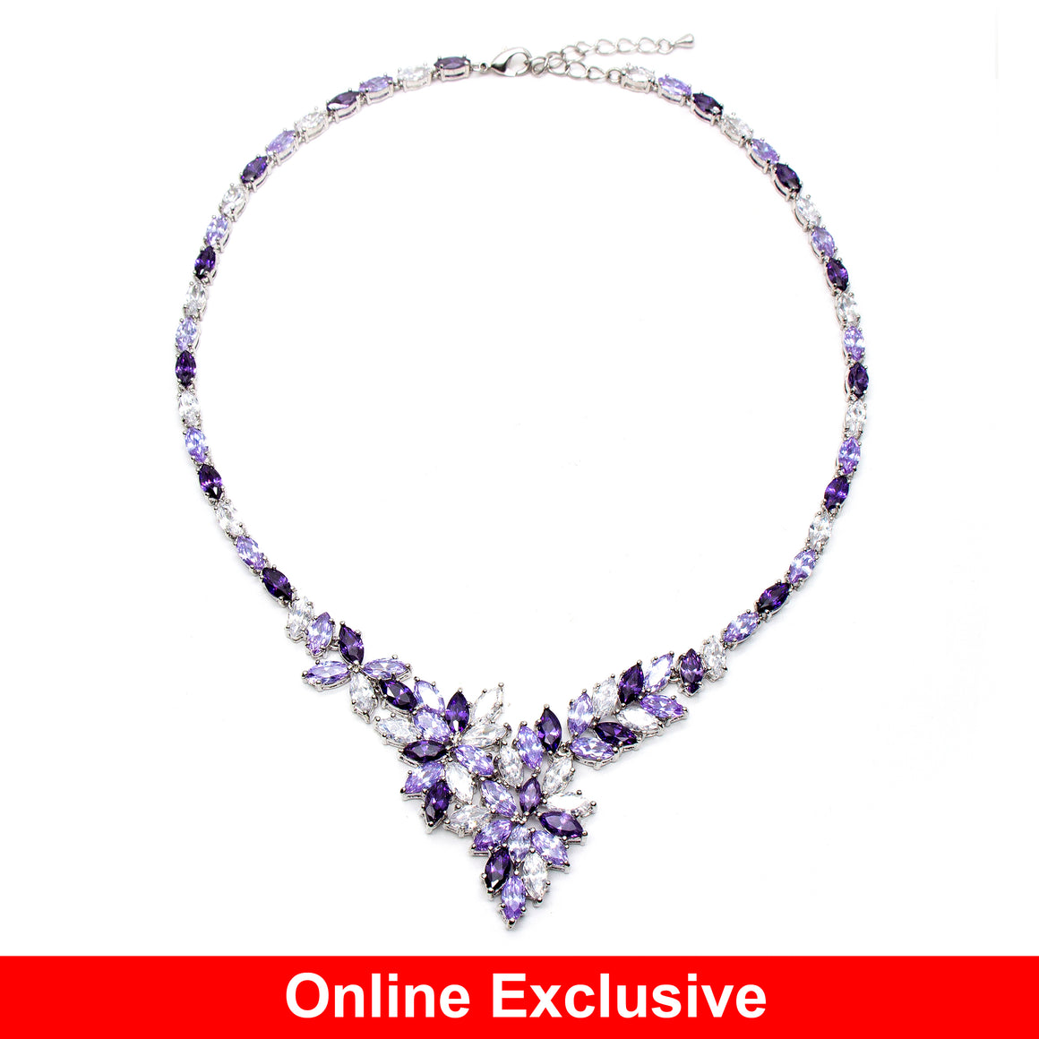 Glomesh Crystal Necklace