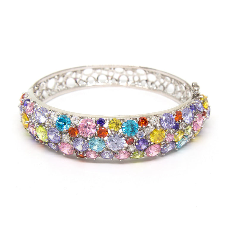 """Glitter Glamour"" Crystal Bangle"