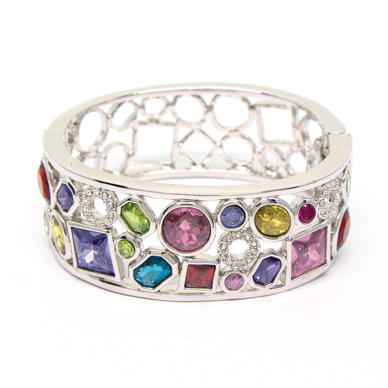 """Spangle Splendour"" Crystal Bangle"