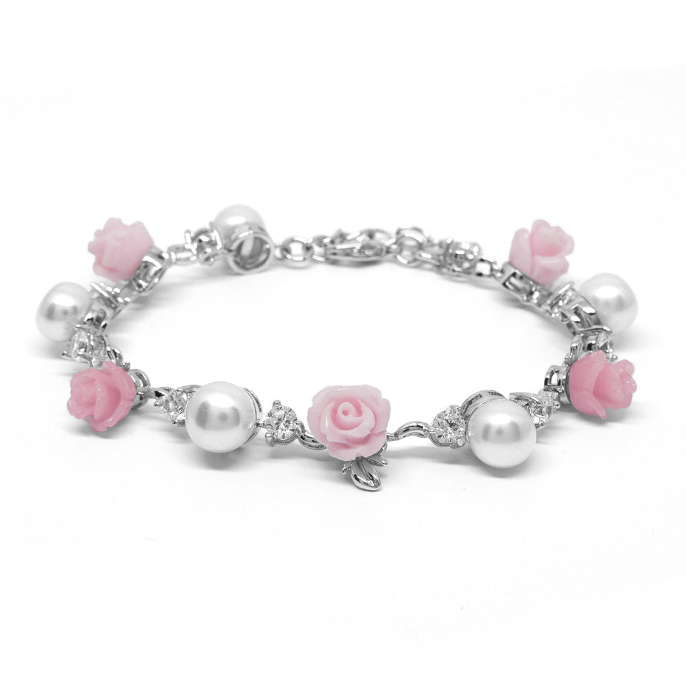 """La Vie en Rose"" Cultured Pearl Bracelet"