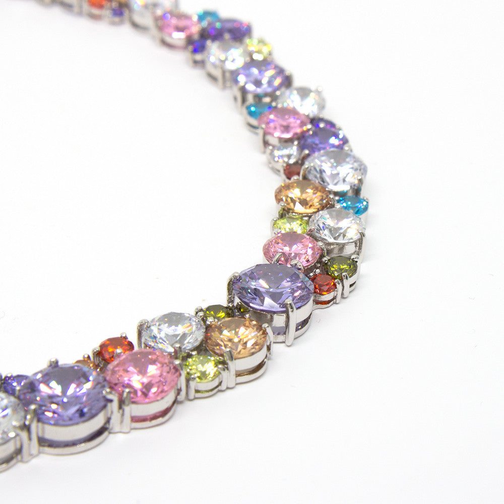 """Glitter Glamour"" Crystal Necklace"