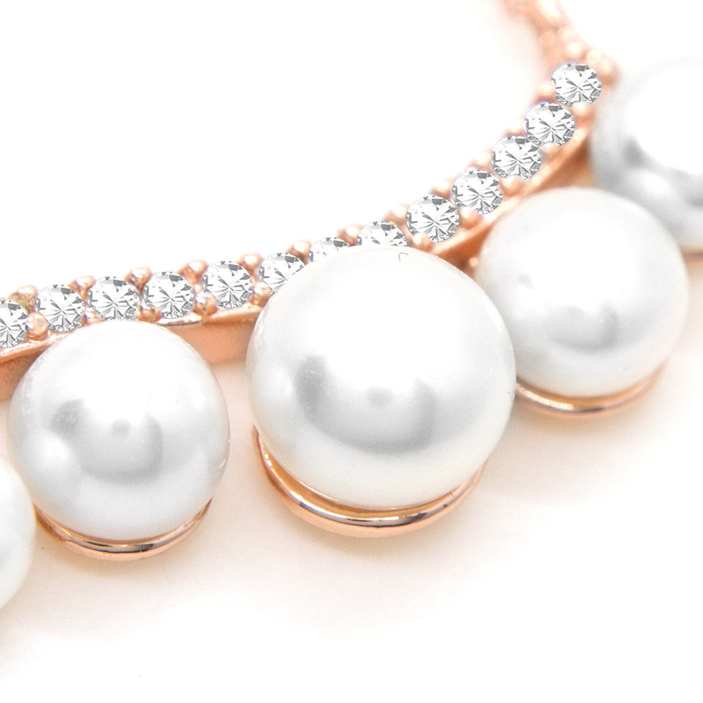 """Morning Dew"" Cultured Pearl Necklace"